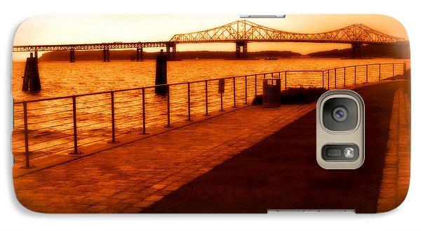 Galaxy Case featuring the photograph Tappan Zee Bridge IIi by Aurelio Zucco