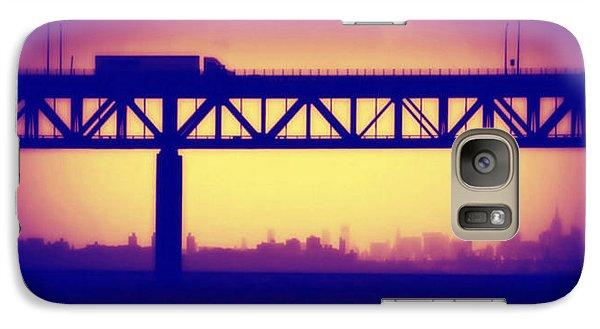 Galaxy Case featuring the photograph Tappan Zee Bridge Iv by Aurelio Zucco