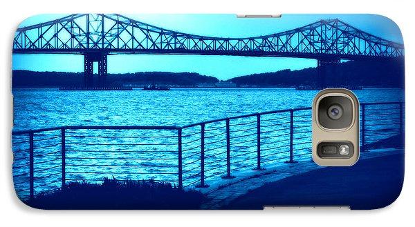 Galaxy Case featuring the photograph Tappan Zee Bridge Vii by Aurelio Zucco