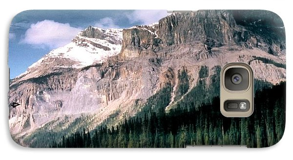 Galaxy Case featuring the photograph Tranquility...emerald Lake Canada by Peggy Stokes