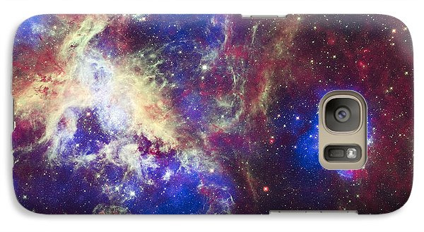 Tarantula Nebula Galaxy S7 Case by Adam Romanowicz