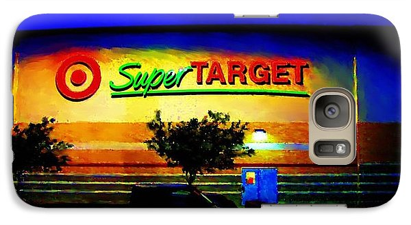 Galaxy Case featuring the digital art Target Super Store B by P Dwain Morris