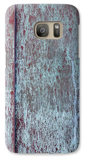Galaxy Case featuring the photograph Tarnished Tin by Heidi Smith