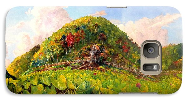 Galaxy Case featuring the painting Taro Garden Of Papua by Jason Sentuf