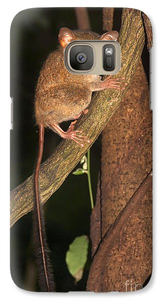 Galaxy Case featuring the photograph Tarsius Tarsier  by Sergey Lukashin