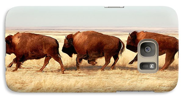 Buffalo Galaxy S7 Case - Tatanka by Todd Klassy