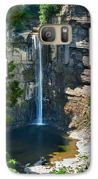 Taughannock Falls Galaxy S7 Case by Christina Rollo