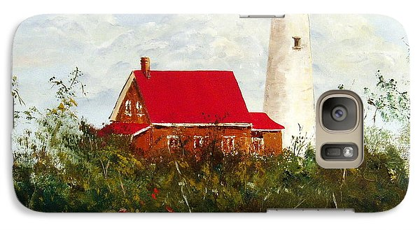 Galaxy Case featuring the painting Tawas by Lee Piper