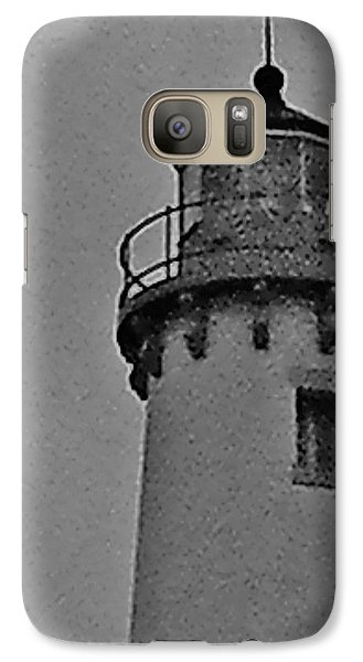 Galaxy Case featuring the photograph Tawas Point In The Rain by Daniel Thompson