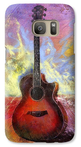 Galaxy Case featuring the painting Taylor by Andrew King