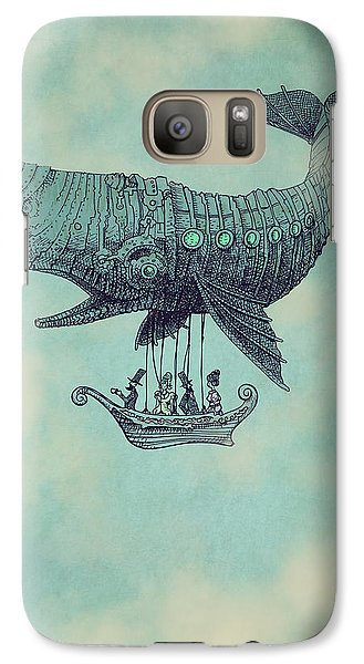 Tea At Two Thousand Feet Galaxy S7 Case by Eric Fan