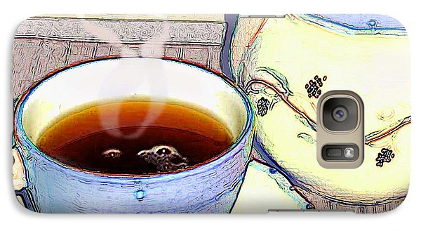 Galaxy Case featuring the photograph Tea For One by Ginny Schmidt