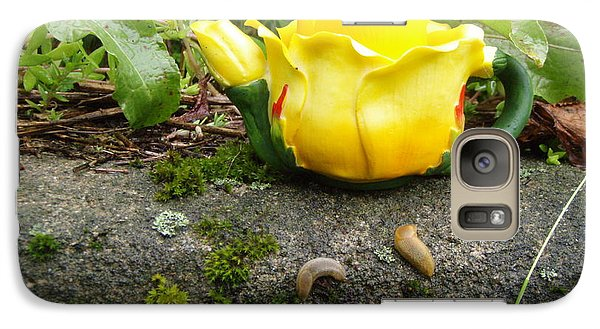 Galaxy Case featuring the photograph Tea For Two by Kristine Nora
