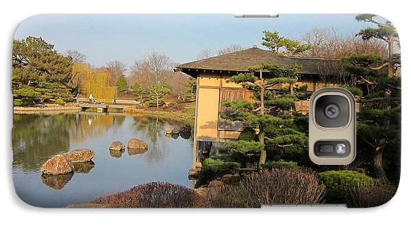 Galaxy Case featuring the photograph Tea House by Kathie Chicoine