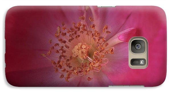 Galaxy Case featuring the photograph Tea Rose by Debra Fedchin