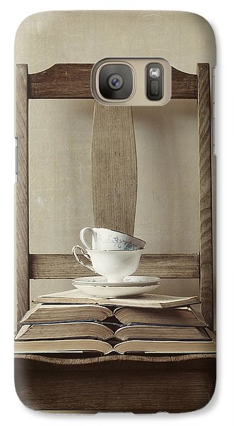 Galaxy Case featuring the photograph Tea Tales by Amy Weiss