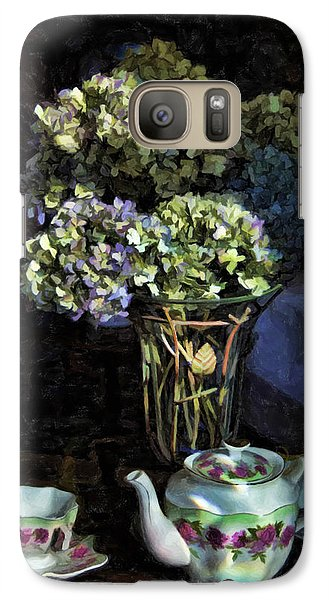 Galaxy Case featuring the photograph Tea Time by Kenny Francis