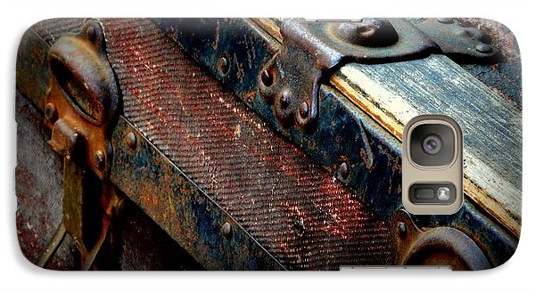 Galaxy Case featuring the photograph Teak Trunk by Guy Hoffman