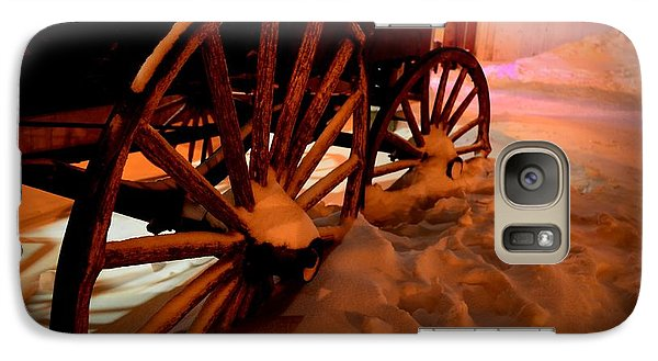 Galaxy Case featuring the photograph Teak Wagon 002 by Guy Hoffman