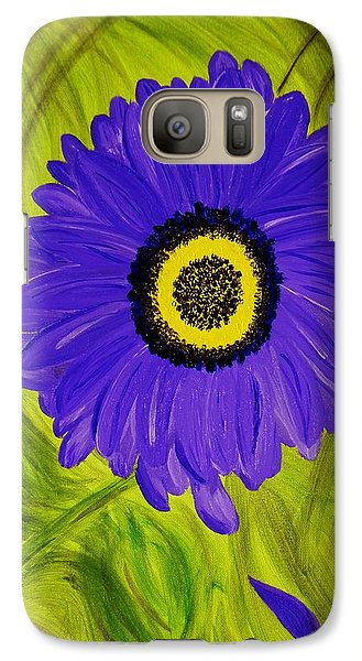Galaxy Case featuring the painting Tear Drop by Celeste Manning