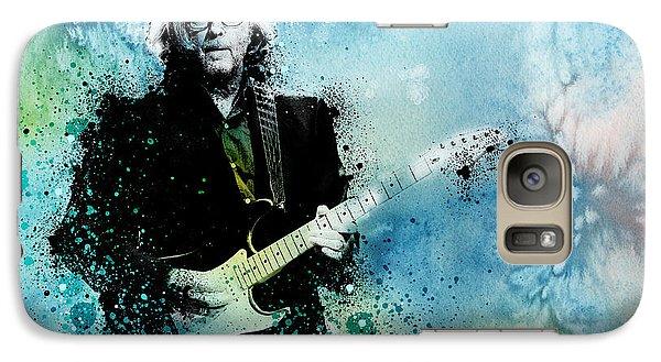 Eric Clapton Galaxy S7 Case - Tears In Heaven 3 by Bekim Art