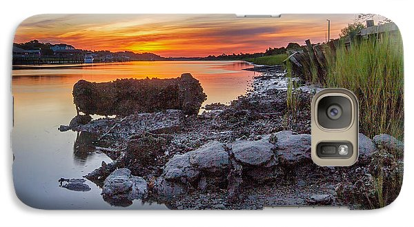 Galaxy Case featuring the photograph Technicolor Sunrise by Alan Raasch