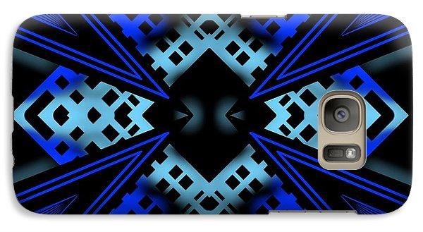 Galaxy Case featuring the digital art Technology Growth by Brian Johnson