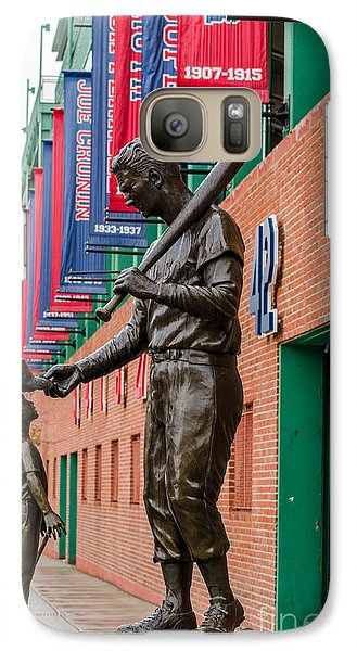 Galaxy Case featuring the photograph Teddy Ballgame by Mike Ste Marie