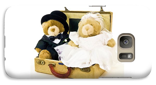 Teddy Bear Honeymoon Galaxy S7 Case by Edward Fielding