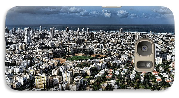 Galaxy Case featuring the photograph Tel Aviv Center by Ron Shoshani