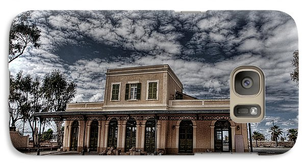 Galaxy Case featuring the photograph Tel Aviv First Railway Station by Ron Shoshani
