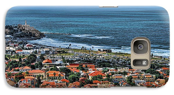 Galaxy Case featuring the photograph Tel Aviv Spring Time by Ron Shoshani