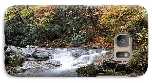 Galaxy Case featuring the photograph Telico River Cascade by Robert Camp