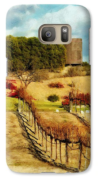 Galaxy Case featuring the digital art Temecula Wine Country by Rhonda Strickland