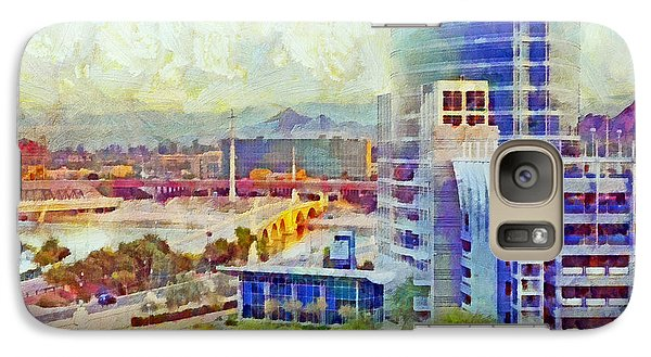 Tempe Arizona Skyline In The Early Morning Galaxy S7 Case