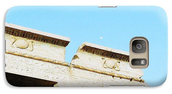 Galaxy Case featuring the photograph Temple At Luxor by Cassandra Buckley