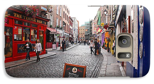 Galaxy Case featuring the photograph Temple Bar by Mary Carol Story
