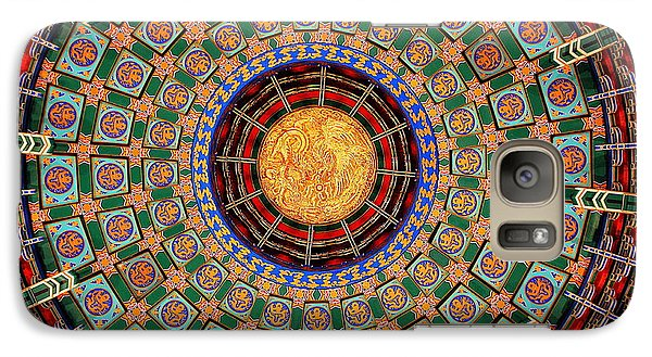 Galaxy Case featuring the photograph Temple Ceiling by Lisa L Silva