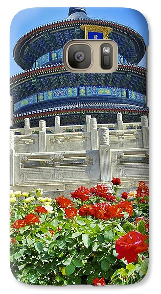 Galaxy Case featuring the photograph Temple Of Heaven  by Sarah Mullin