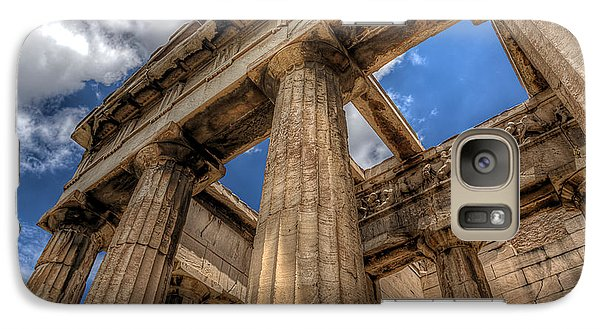 Galaxy Case featuring the photograph Temple Of Hephaestus by Micah Goff