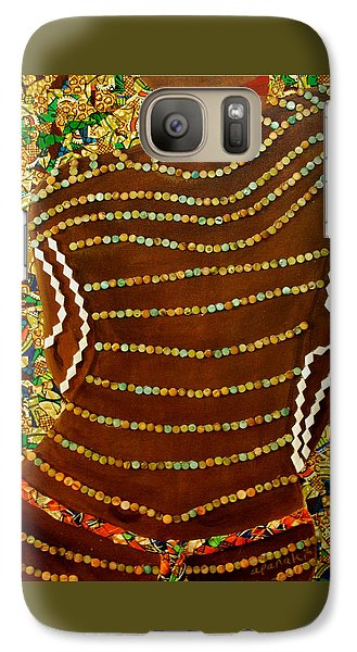 Galaxy Case featuring the tapestry - textile Temple Of The Goddess Eye Vol 2 by Apanaki Temitayo M