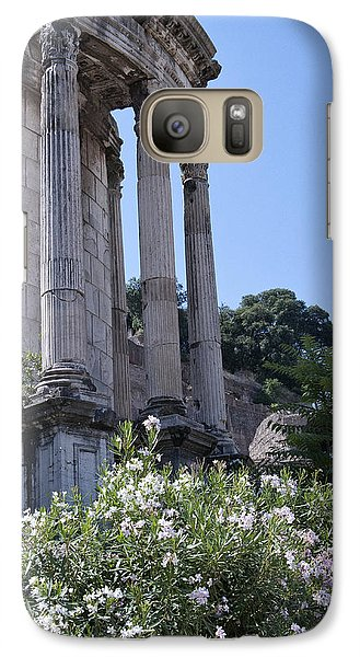 Temple Of Vesta Galaxy S7 Case by Melany Sarafis