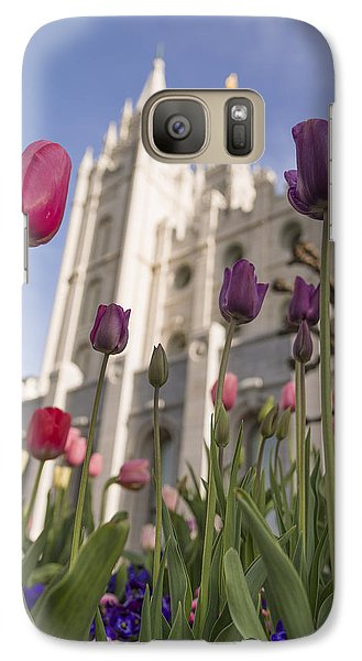 Tulip Galaxy S7 Case - Temple Tulips by Chad Dutson