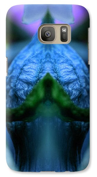 Galaxy Case featuring the photograph Temple by WB Johnston