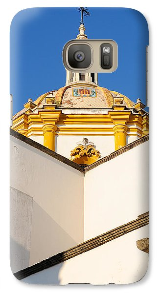Galaxy Case featuring the photograph Templo De La Merced Guadalajara Mexico by David Perry Lawrence