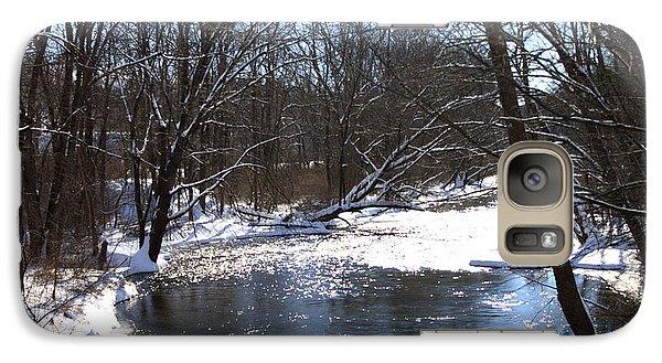 Galaxy Case featuring the photograph Ten Mile River by Barbara Giordano