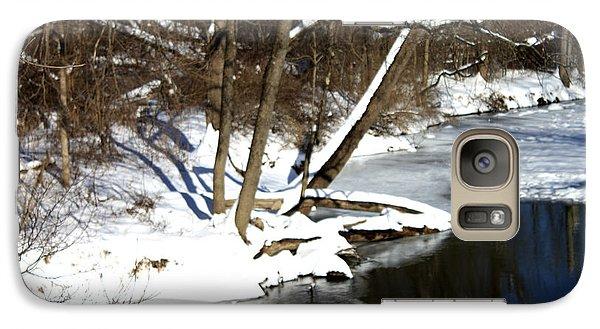 Galaxy Case featuring the photograph Ten Mile River Ne View by Barbara Giordano