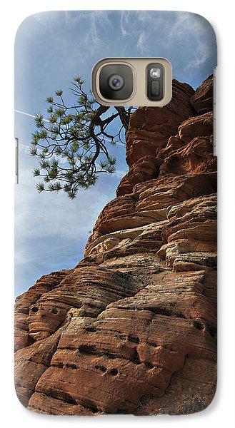 Galaxy Case featuring the photograph Tenacity by Joe Schofield