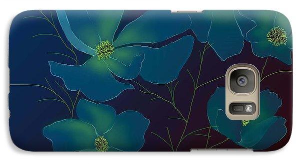 Galaxy Case featuring the digital art Tender Cosmos by Latha Gokuldas Panicker