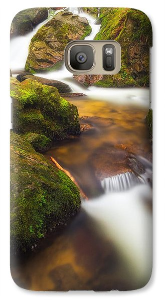Galaxy Case featuring the photograph Tendon's Waterfall by Maciej Markiewicz